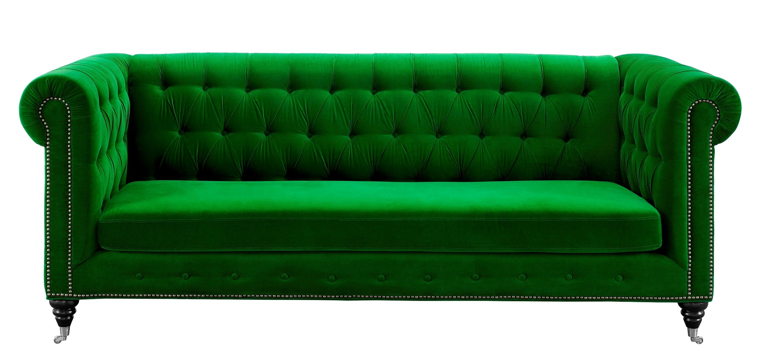 Green Settee Hanny Green Velvet Sofa From Tov S42 Coleman Furniture