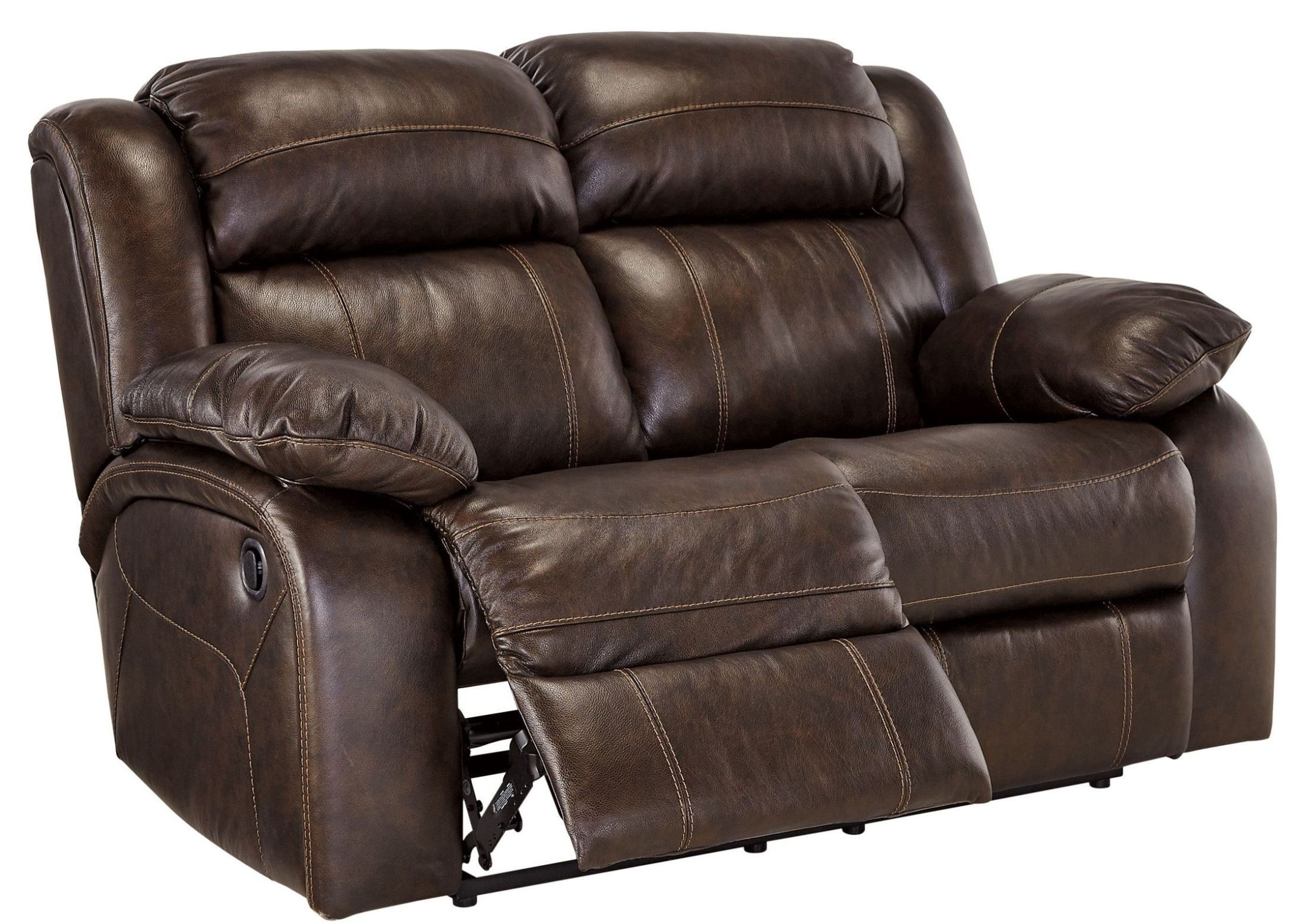 Antike Sofas & Loveseats Branton Antique Reclining Loveseat From Ashley U7190186
