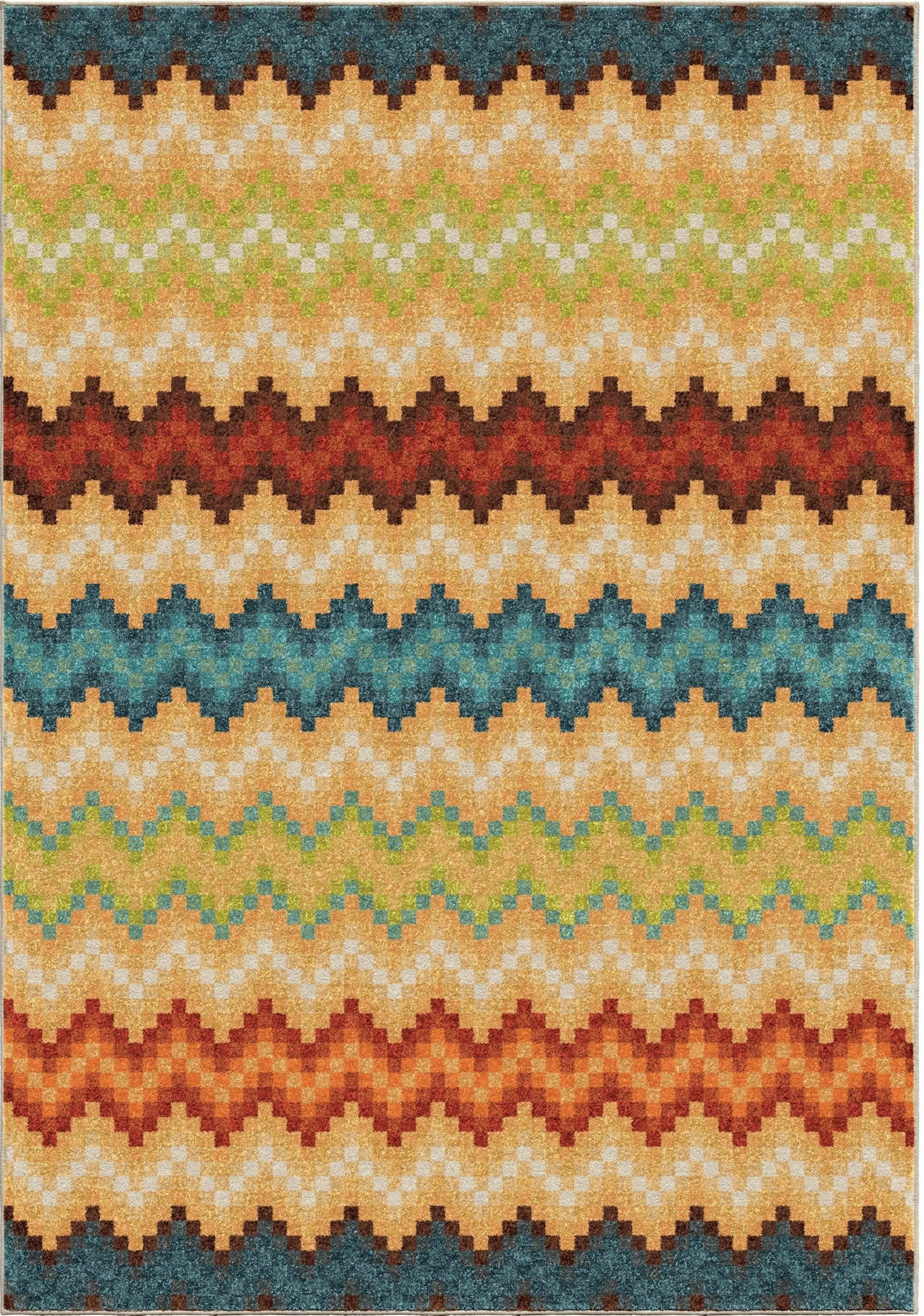 Bright Rugs Orian Rugs Bright Color Chevron Candy Chevron Multi Area