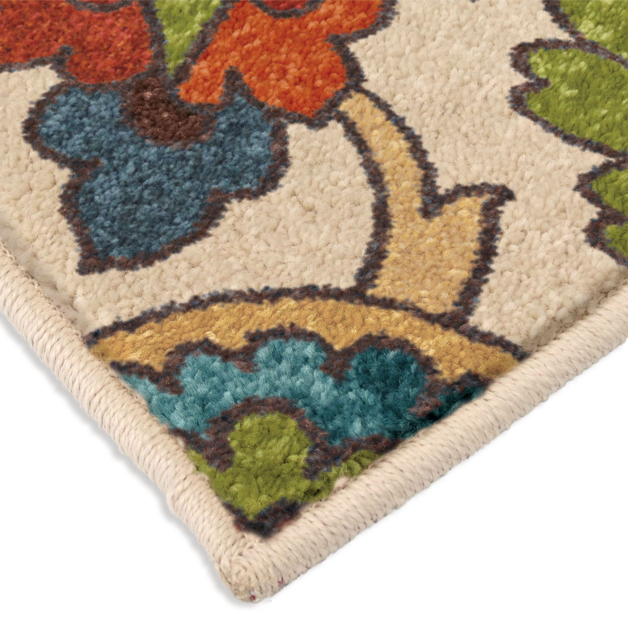 Bright Rugs Orian Rugs Bright Color Paisley Ginger Garden Multi Area