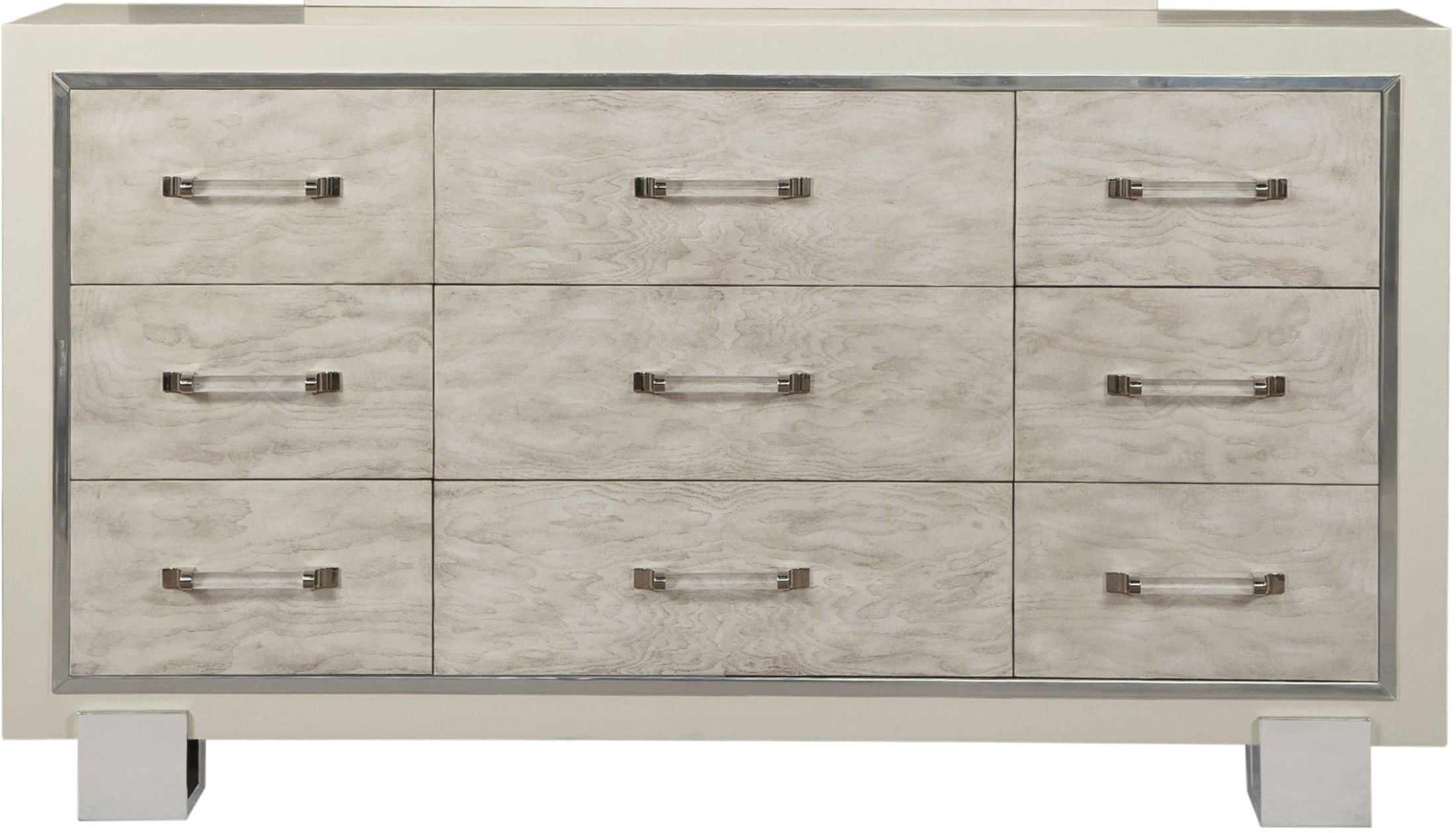 Dresser Melbourne Melbourne High Gloss Cream Dresser From Pulaski Coleman