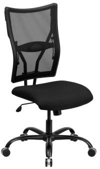 Hercules Series Big & Tall Black Mesh Office Chair from ...