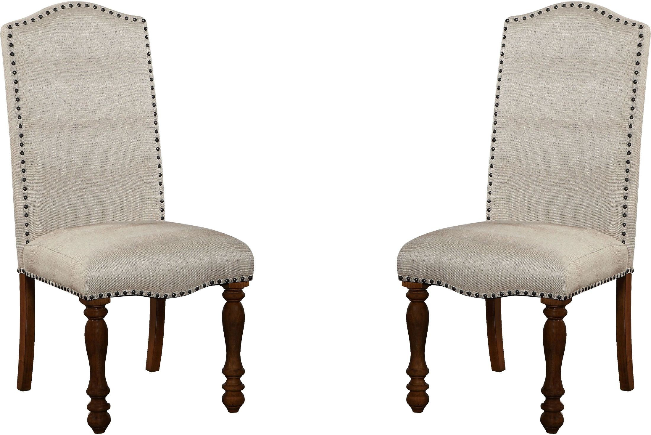 Bohemian Beige Side Chair Set Of 2 From Legends Furniture
