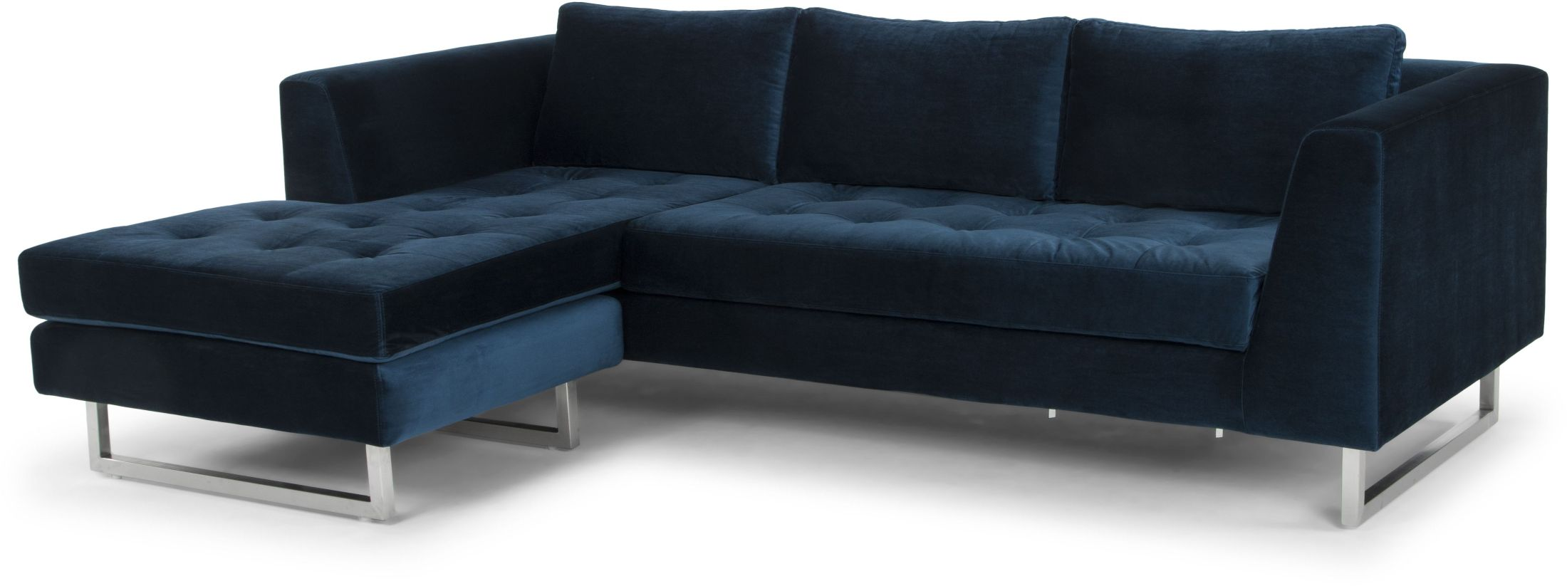 Blue Sectional Matthew Midnight Blue Sectional Sofa