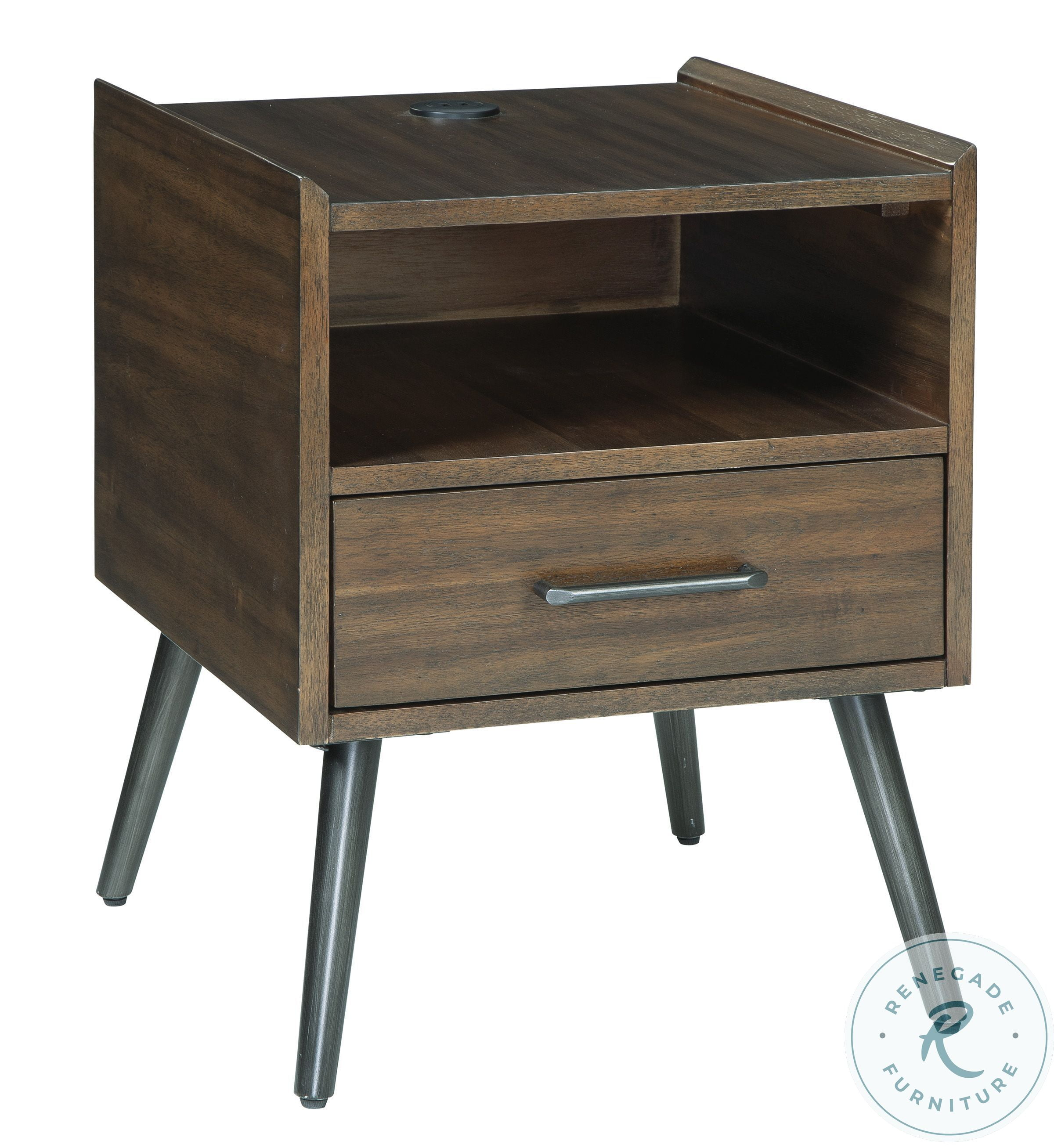 Passport Ombre Open Side Table From Progressive Furniture Coleman Furniture