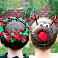 Festive Christmas Hairstyles! | Beautylish