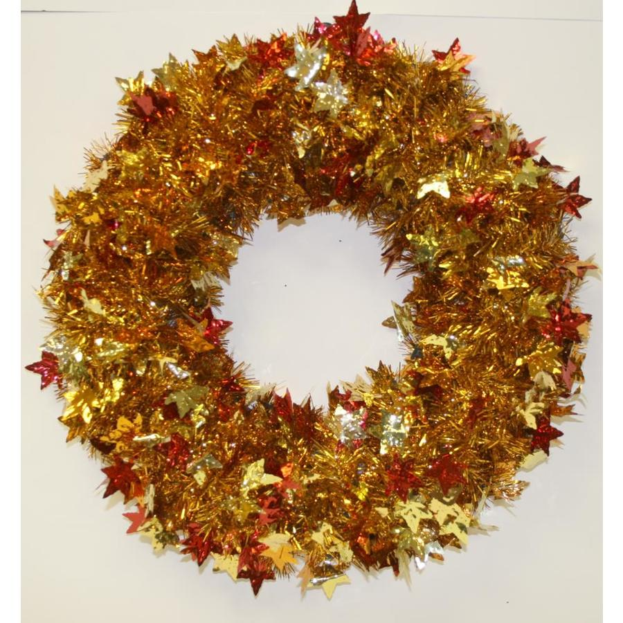 Living24 Möbel Holiday Living 24 In Tinsel Leafy Harvest Wreath