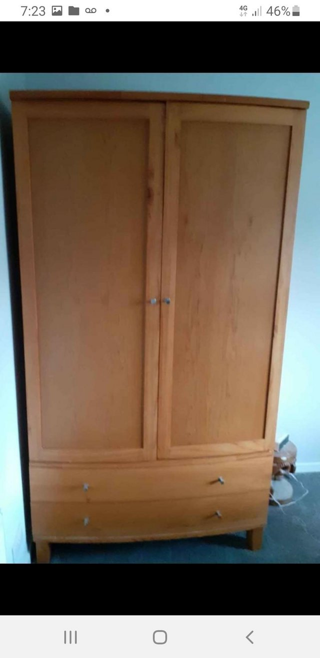 Pine Wardrobe Second Hand Household Furniture Buy And Sell Preloved