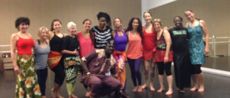 Mara and dancers