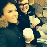 Met Evelien aan de koffie (2015)