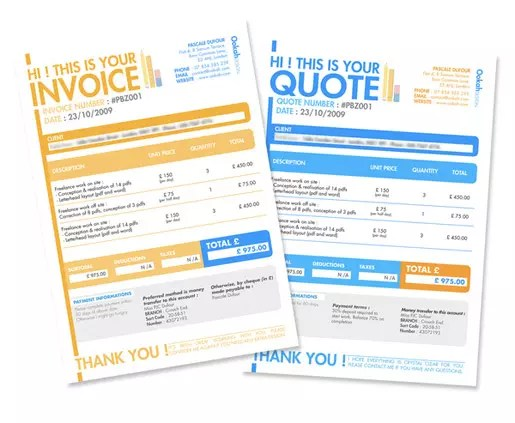 Design an Invoice That Practically Pays Itself \u2014 SitePoint - designing an invoice