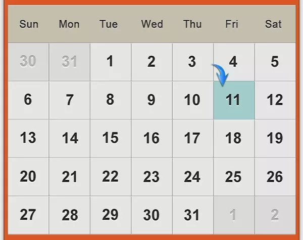 Make Calendar By Photoshop Making An Easy Photo Calendar In Photoshop Youtube Design A Clean Calendar Ui In Photoshop — Sitepoint