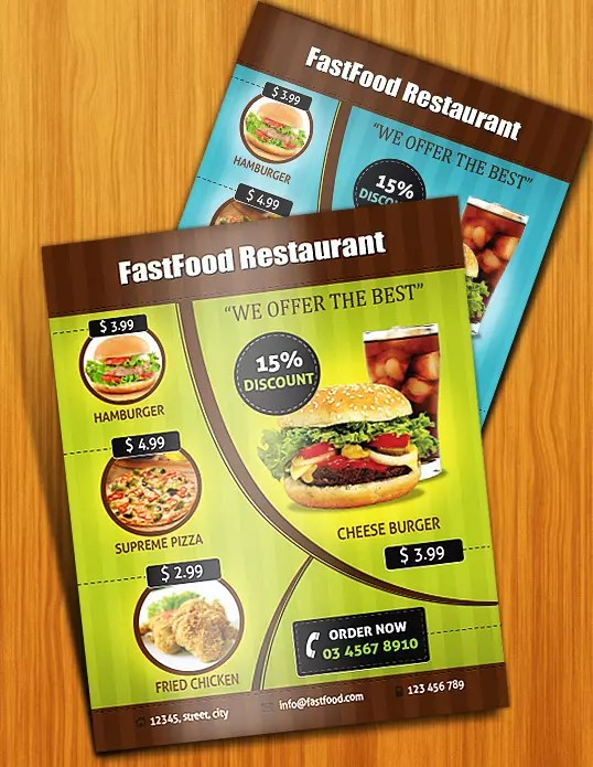 Design an Appealing Print-Ready Restaurant Menu in Illustrator
