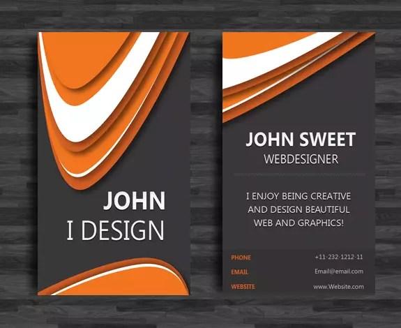 Create a Sleek Vertical Business Card in InDesign \u2014 SitePoint