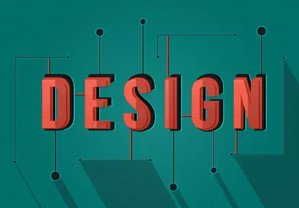 Create a Shaded, Stylized Text Effect in Photoshop \u2014 SitePoint