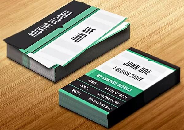 Create a Clean Vertical Business Card in InDesign \u2014 SitePoint - vertical business card