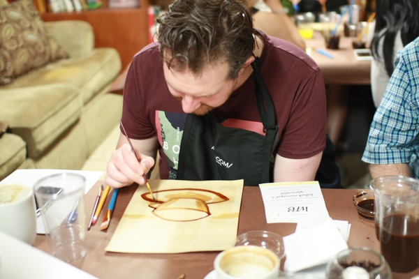 Painting Classes Chicago Painting With Coffee At Macys