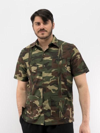 g Camouflage Guayabera
