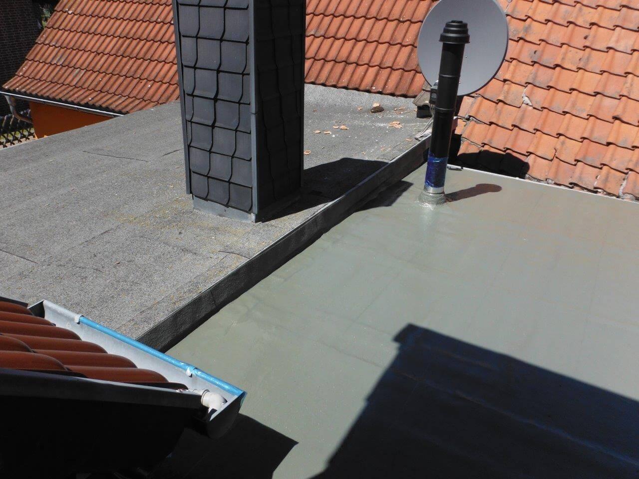 Terrassenboden Mit Flussigkunststoff Abdichten Terrasse Abdichten