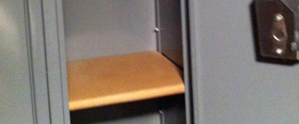 Dad Blog Build Shelves For School Lockers Dadandcom