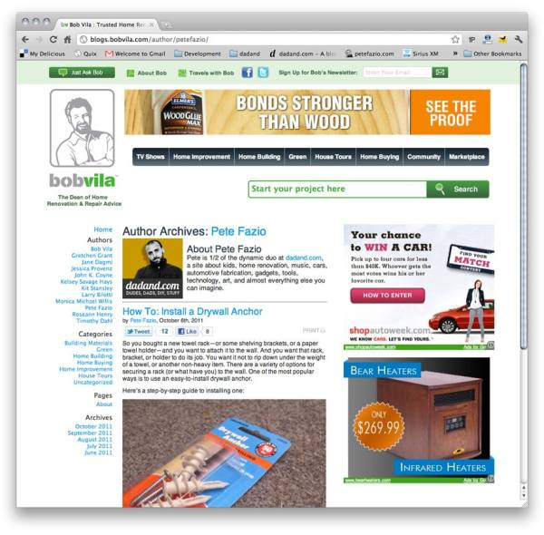Pete Fazio on bobvila.com