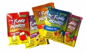 The Funky Monkey sample pack of freeze-dried fruit. Win some by commenting on this post.
