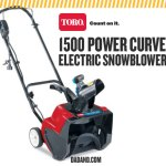 Toro 1500 Power Curve Electric Snowblower