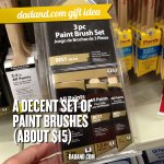Dad Gift Idea - Paint Brushes