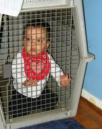 baby cage Get Your Kid Out of My Face