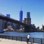 Another cool view from the awesome Brooklyn Bridge Park. #freedomtower…