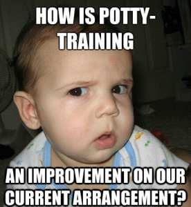 potty, potty training, everybody poops, elmo, toddlers, parenting, development, education, dads, home, life, stay-at-home dad, diapers, star wars