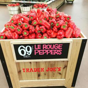 Theyre just red peppers traderjoeslist you pretentious clowns!
