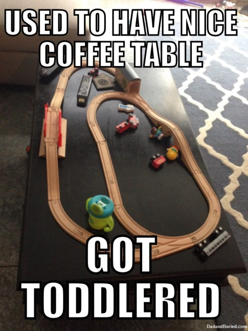 coffee table You Got Toddlered: Coffee Table