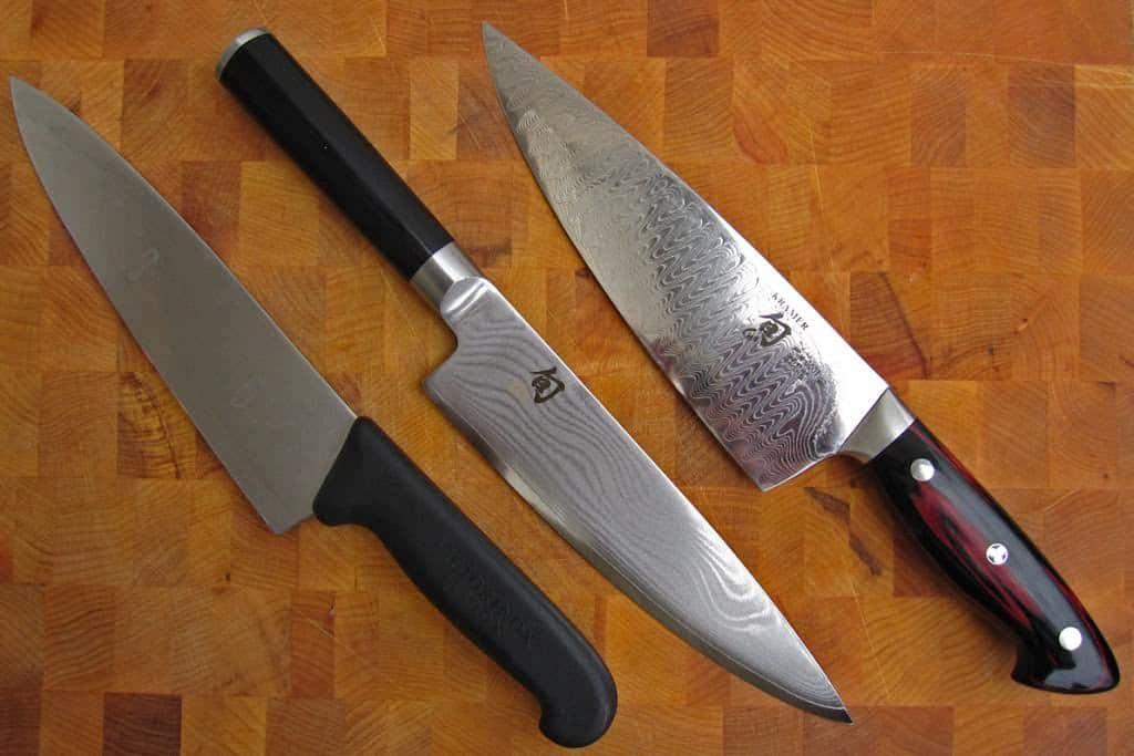 Things i love shun bob kramer chef 39 s knife dad cooks dinner for Kramer knives