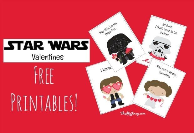 DIY Star Wars Valentine\u0027s Suckers + Free Valentine\u0027s Printables