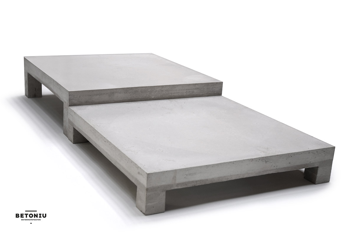 Couchtisch English Concrete Coffee Table Platt Z