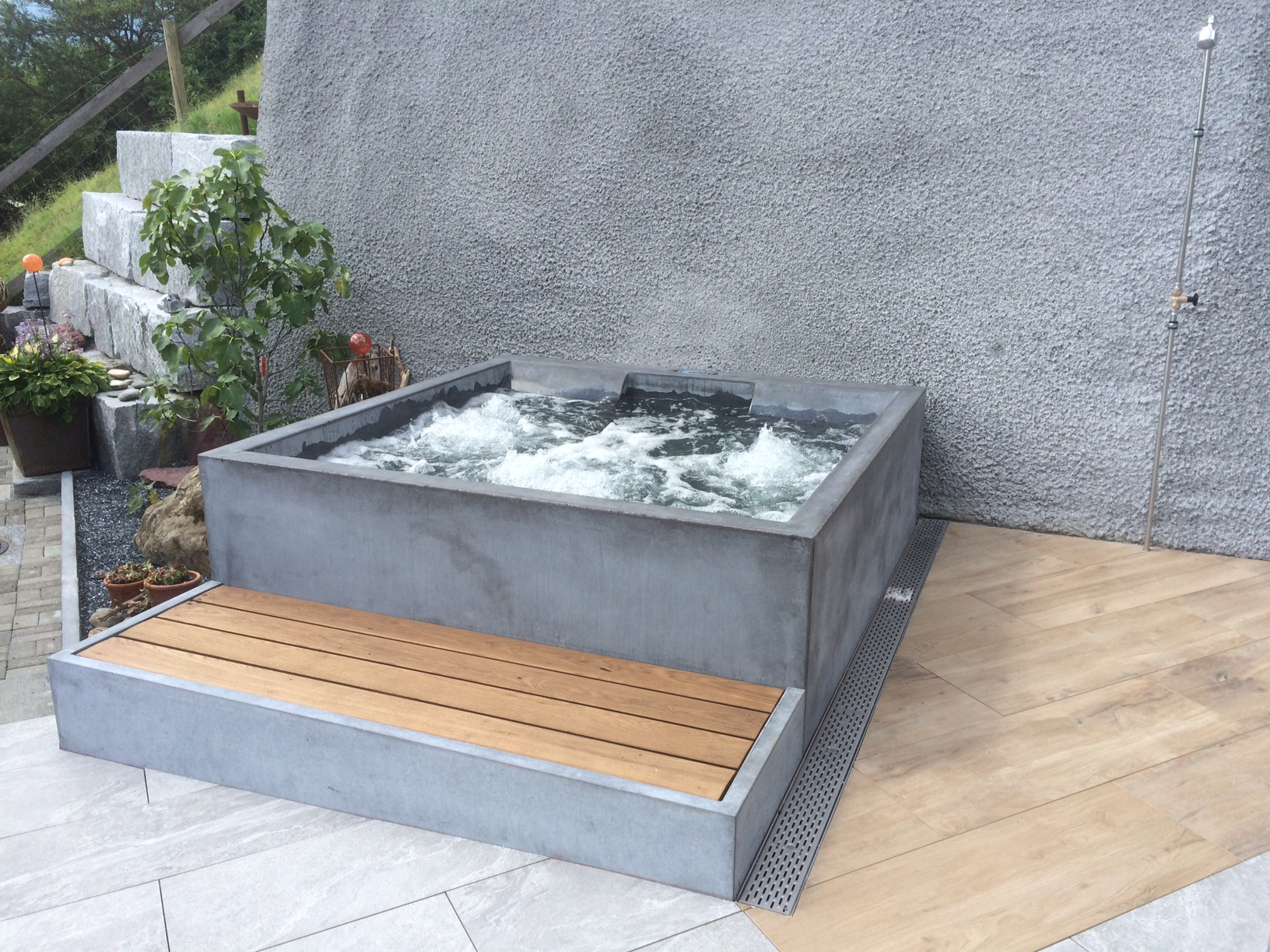 Betonpool Concrete Pool | Whirlpool | Dade Design