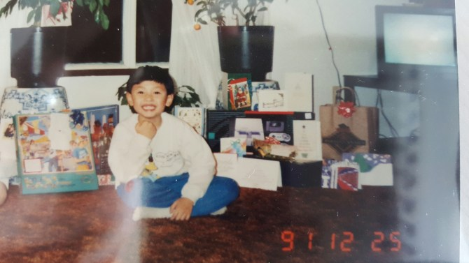 Why am I beaming? SNES for Christmas, that's why