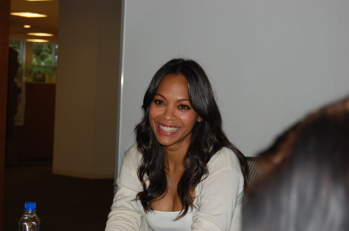 My Interview With Zoe Saldana ( @Zoesaldana ) #GuardiansoftheGalaxyEvent