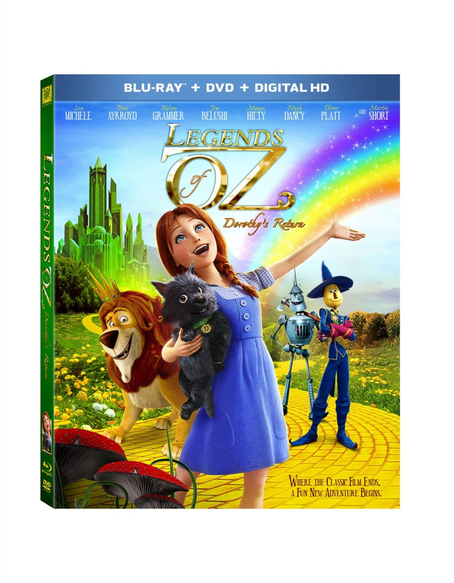 Legends of Oz: Dorthy's Return Blu-Ray Release Aug 26 #giveaway