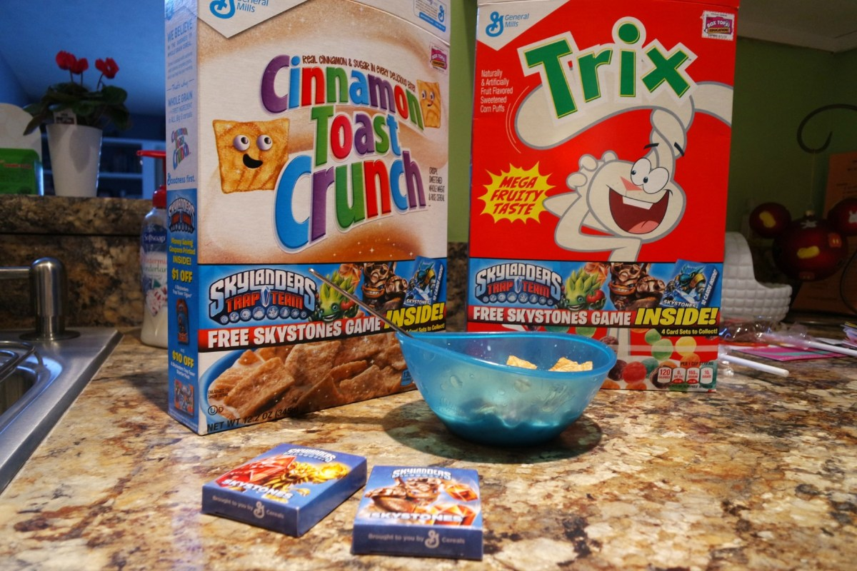 General Mills brings Skylanders prizes in your cereal box #Giveaway