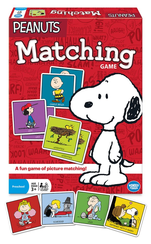Peanuts-Matching-Wonder-Forge-Game