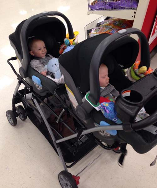 Twin Stroller Infant Baby Trend Snap N Go Double Stroller Review