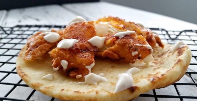 Nashville Hot Chicken Flatbread