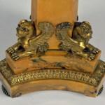 Empire Marble Bronze Candelabra 6