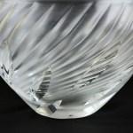 Lalique Swirl Vase 4