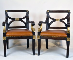 Regency Dolphin Chairs