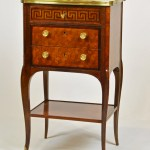 French Marble Top Petite Commode