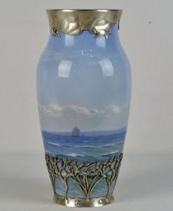 Royal Copenhagen Sterling Vase 2