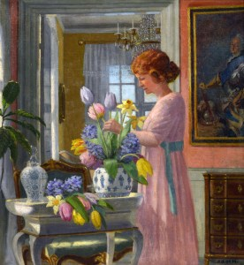 Heinrich Hansen Morning Blooms